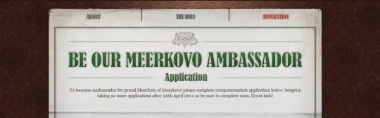 Meerkovo Ambassador