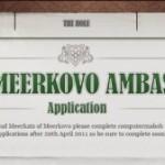 Meerkat Ambassador Wanted
