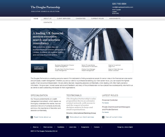 Douglas Partnership Website