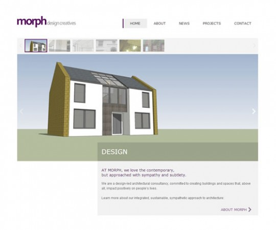 Morph website