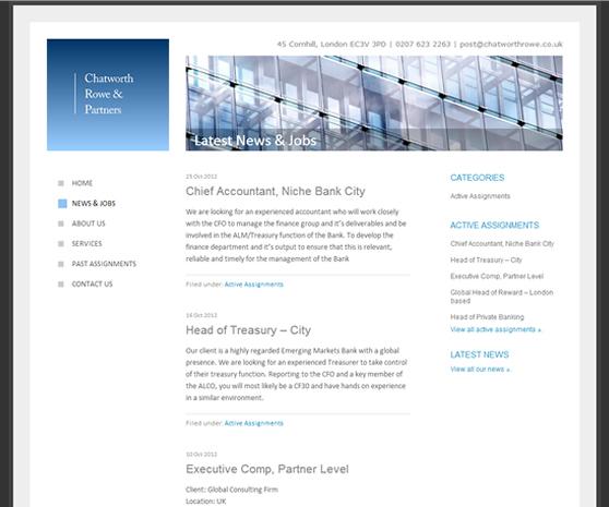 Chatworth Rowe website