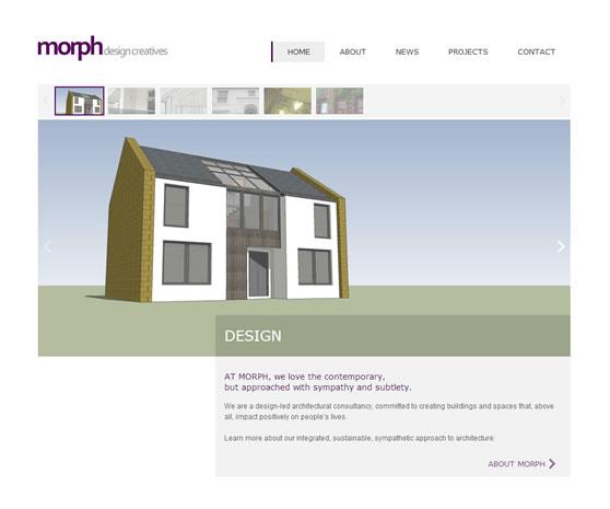Morph website