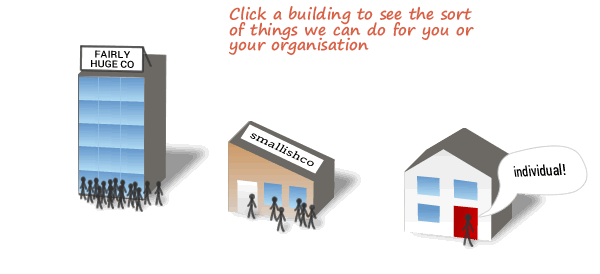 Different solutions for different organisations